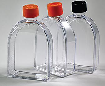 tissue culture flaks, מבחנות פלסטיק עם מכסה, מבחנות מפלסטיק, מבחנות זכוכית, מבחנות פלסטיק