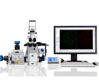 Cell Observer SD, ZEISS, scanning light microscope, zeiss, Confocal Microscope
