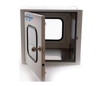 275x337 507 passbox, מתכלים לחדרים נקיים, ריהוט לחדרים נקיים, ביגוד חד פעמי/מתכלה אנטי סטטי/לחדרים נקיים, פליירים לחדרים נקיים/אנטי